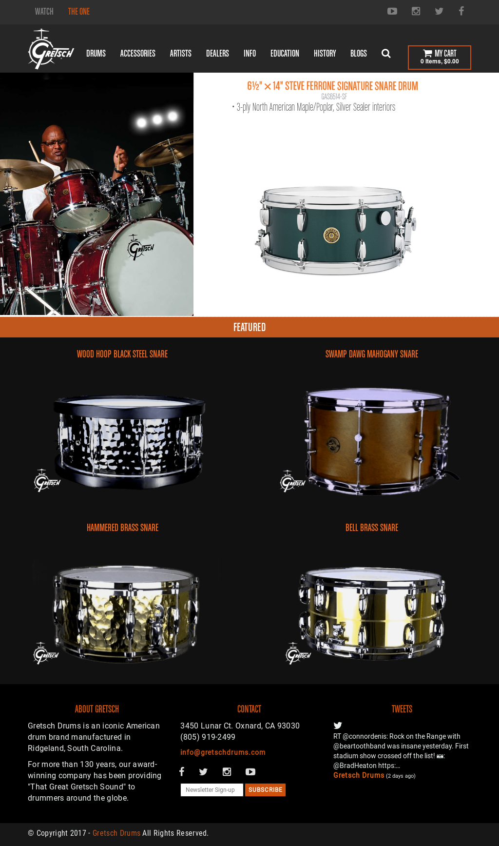 Gretsch Drums Competitors, Revenue and Employees - Owler