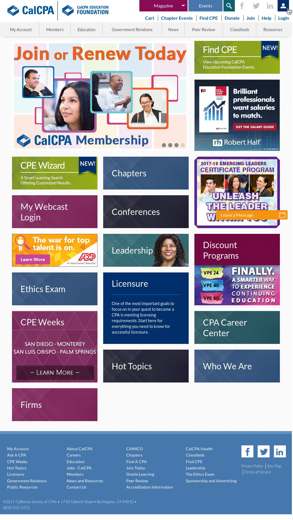 CalCPA Competitors, Revenue and Employees - Owler Company