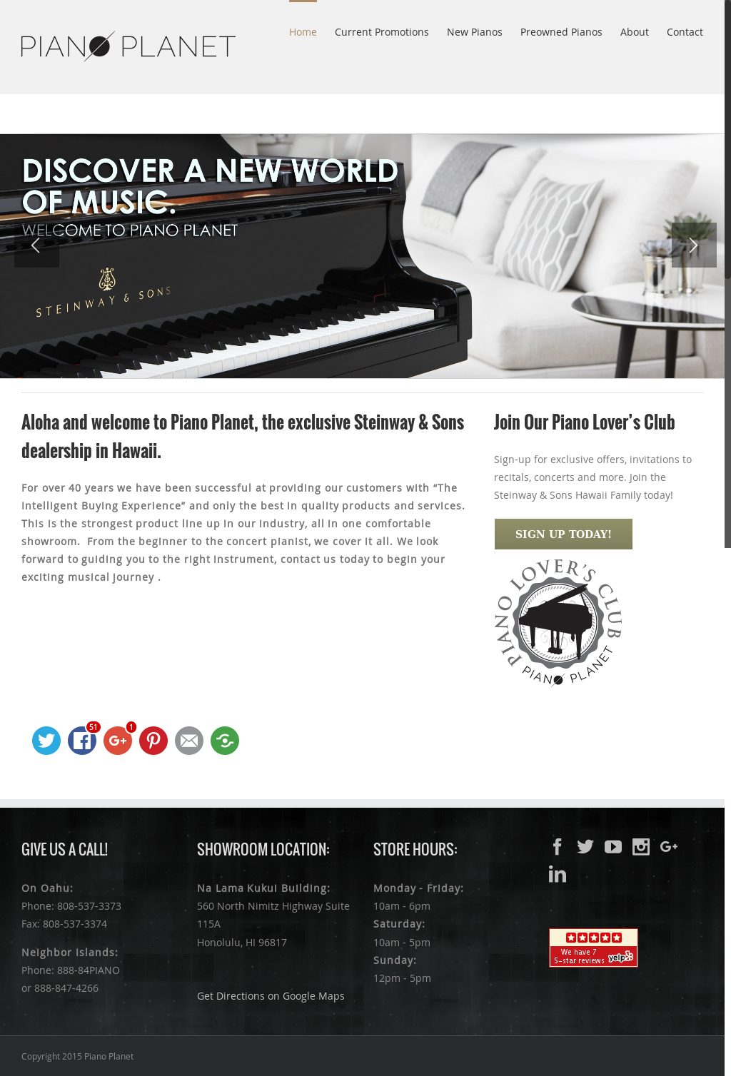 Piano Planet Competitors, Revenue and Employees - Owler