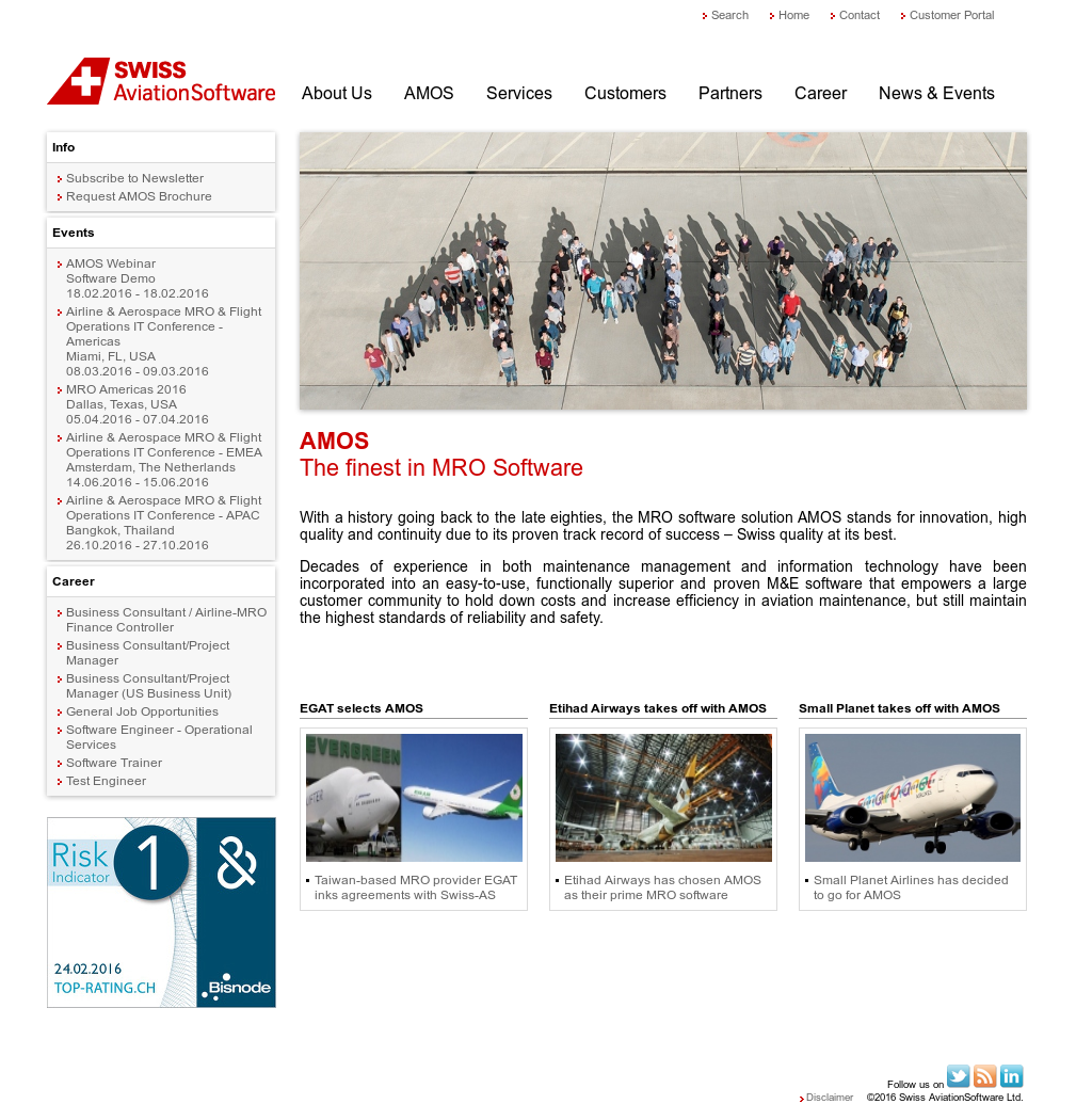 Swiss AviationSoftware Competitors, Revenue and Employees