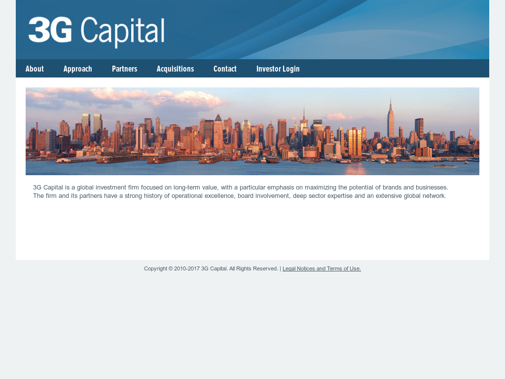 capital the story of longterm investment excellence