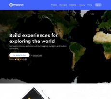 Mapbox website history