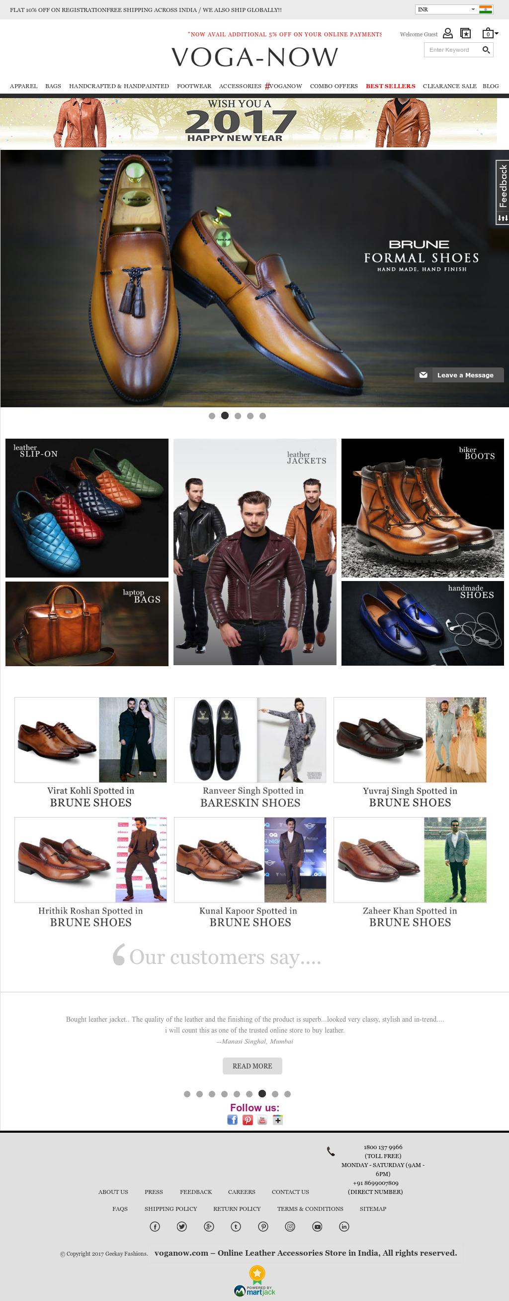 voganow shoes online