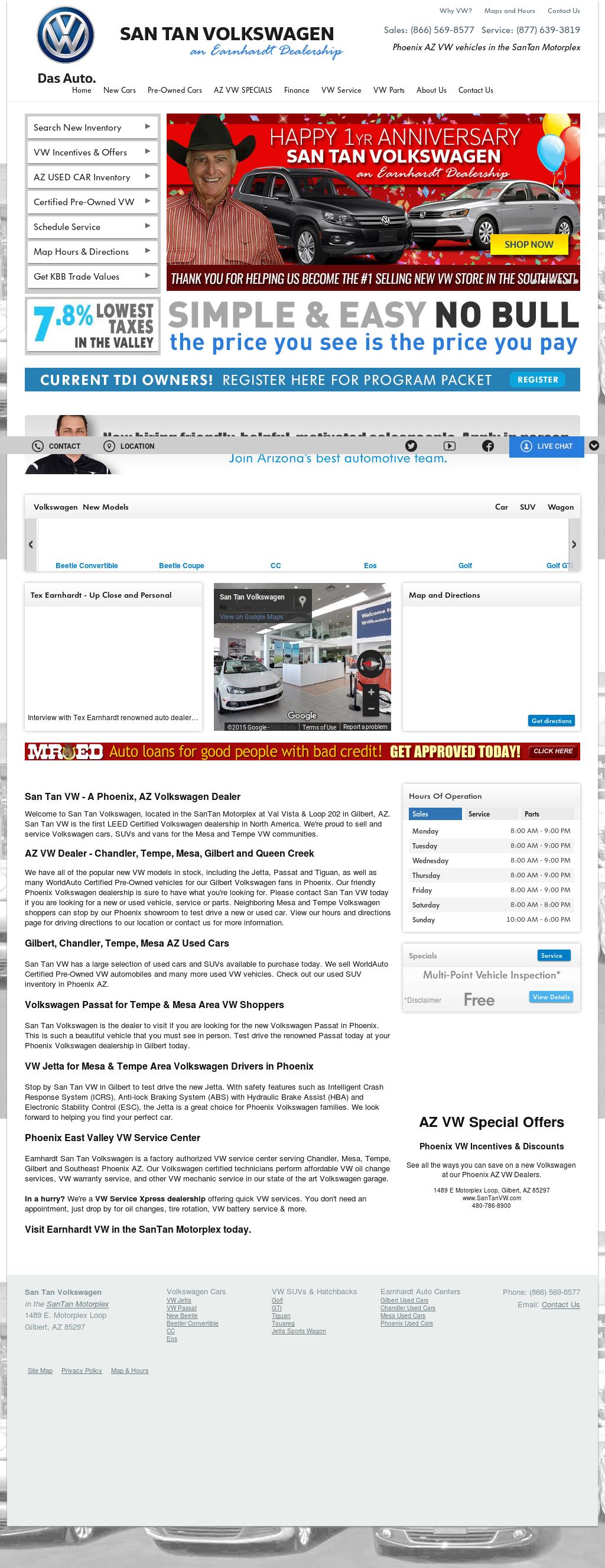 San Tan VW >> San Tan Vw Competitors Revenue And Employees Owler