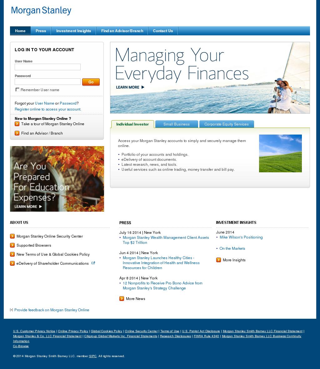 Owler Reports - Morgan Stanley Smith Barney: Morgan Stanley