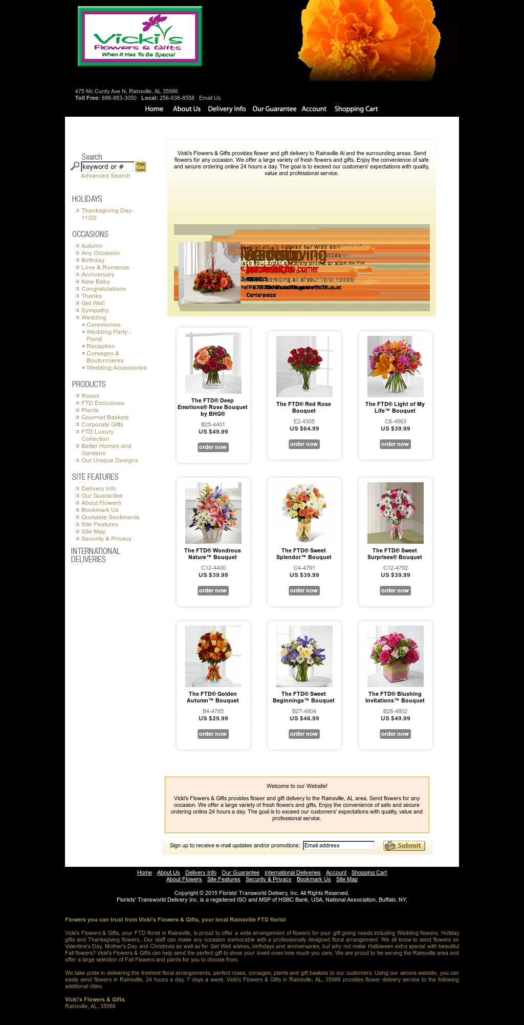 Vicki's Flowers & Gifts Competitors, Revenue and Employees
