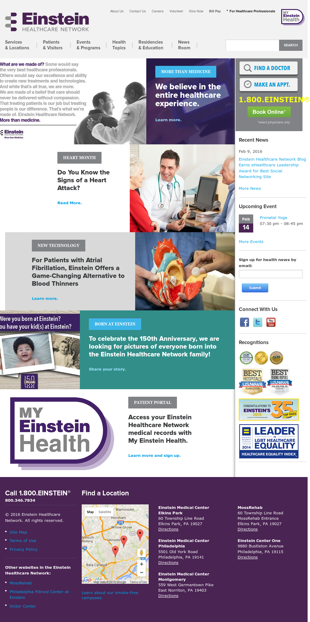 Einstein Healthcare Network Competitors, Revenue and