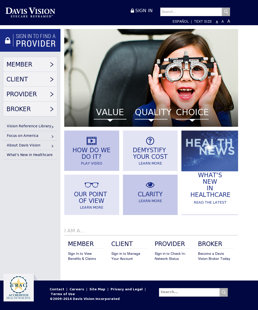 Davis Vision Competitors, Revenue and Employees - Owler Company Profile