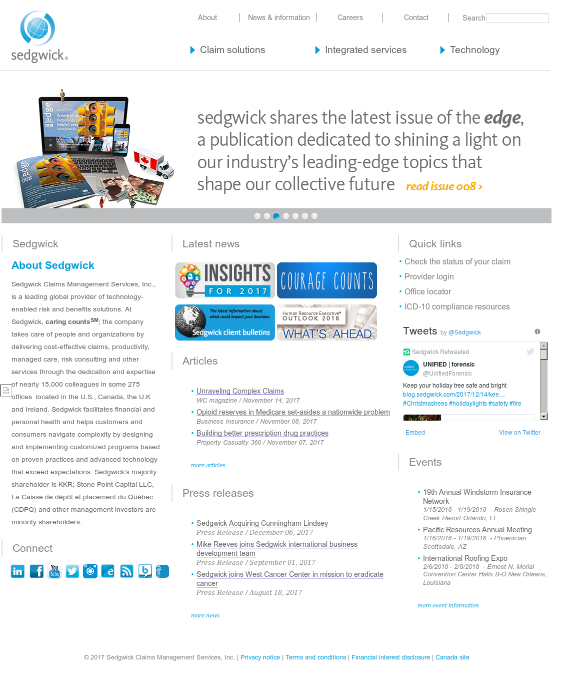 Sedgwick Competitors, Revenue and Employees - Owler Company Profile