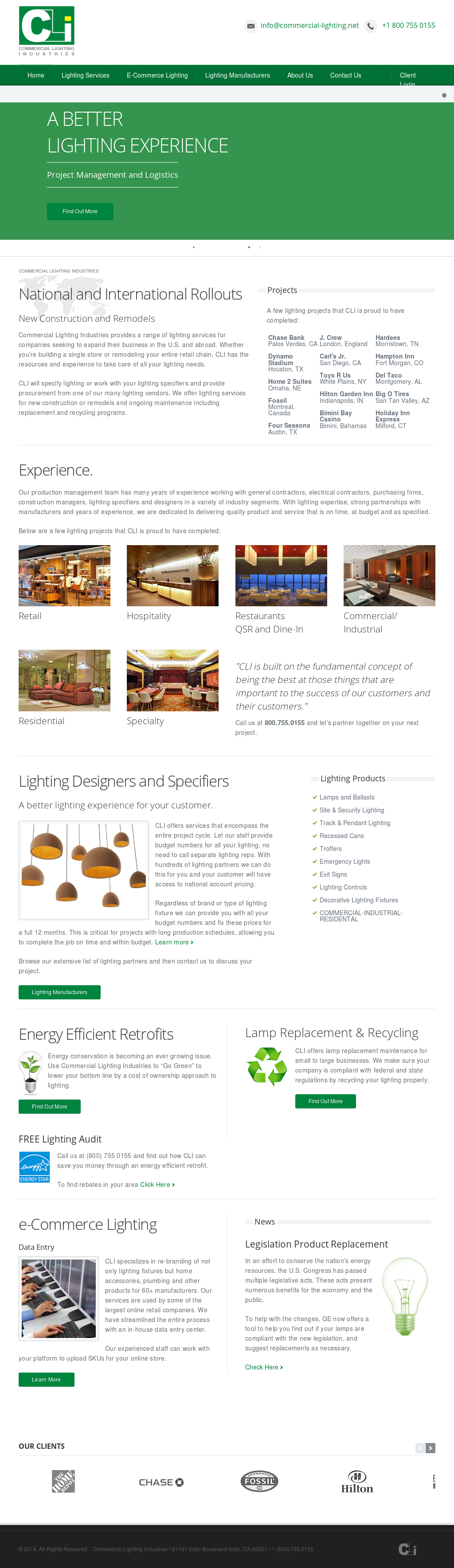 Commercial lighting industries competitors revenue and employees commercial lighting industries website history mozeypictures Gallery