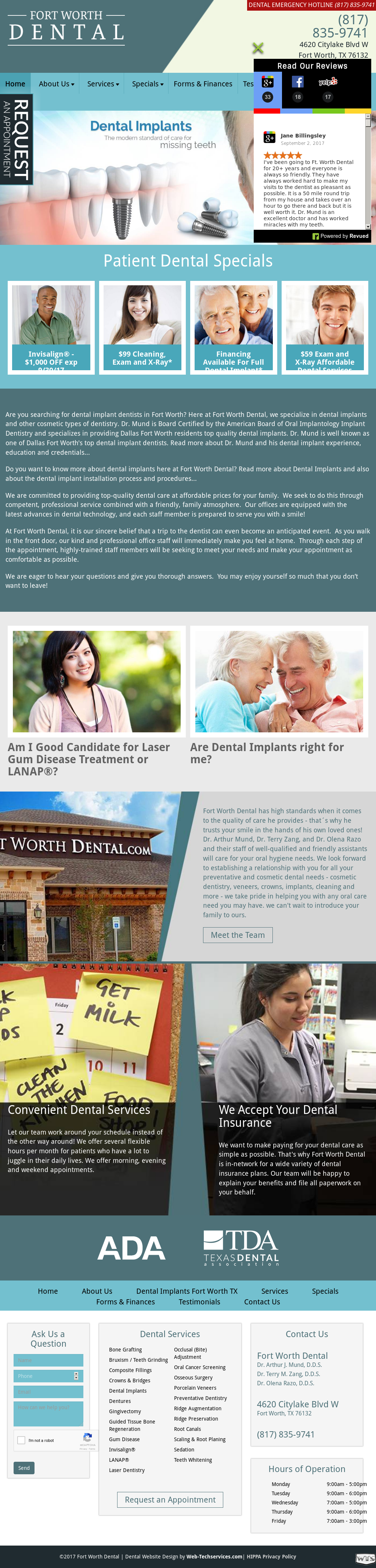 Fort Worth Dental Competitors, Revenue and Employees - Owler