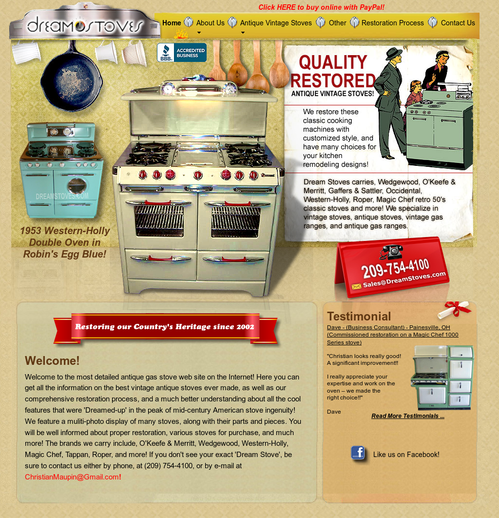 Dream Stoves Competitors, Revenue and Employees - Owler