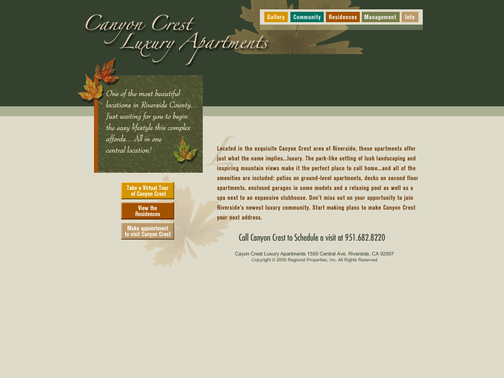Canyon Crest Luxury Apartments Competitors, Revenue and ...