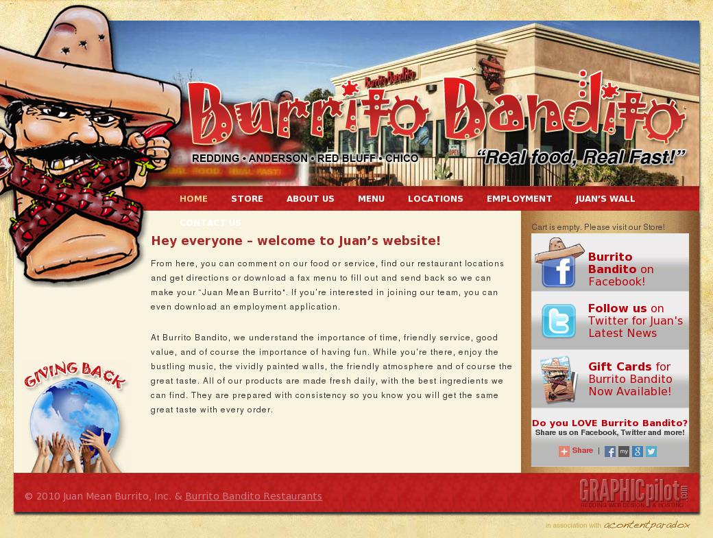 Burrito Bandito Anderson Competitors, Revenue and Employees