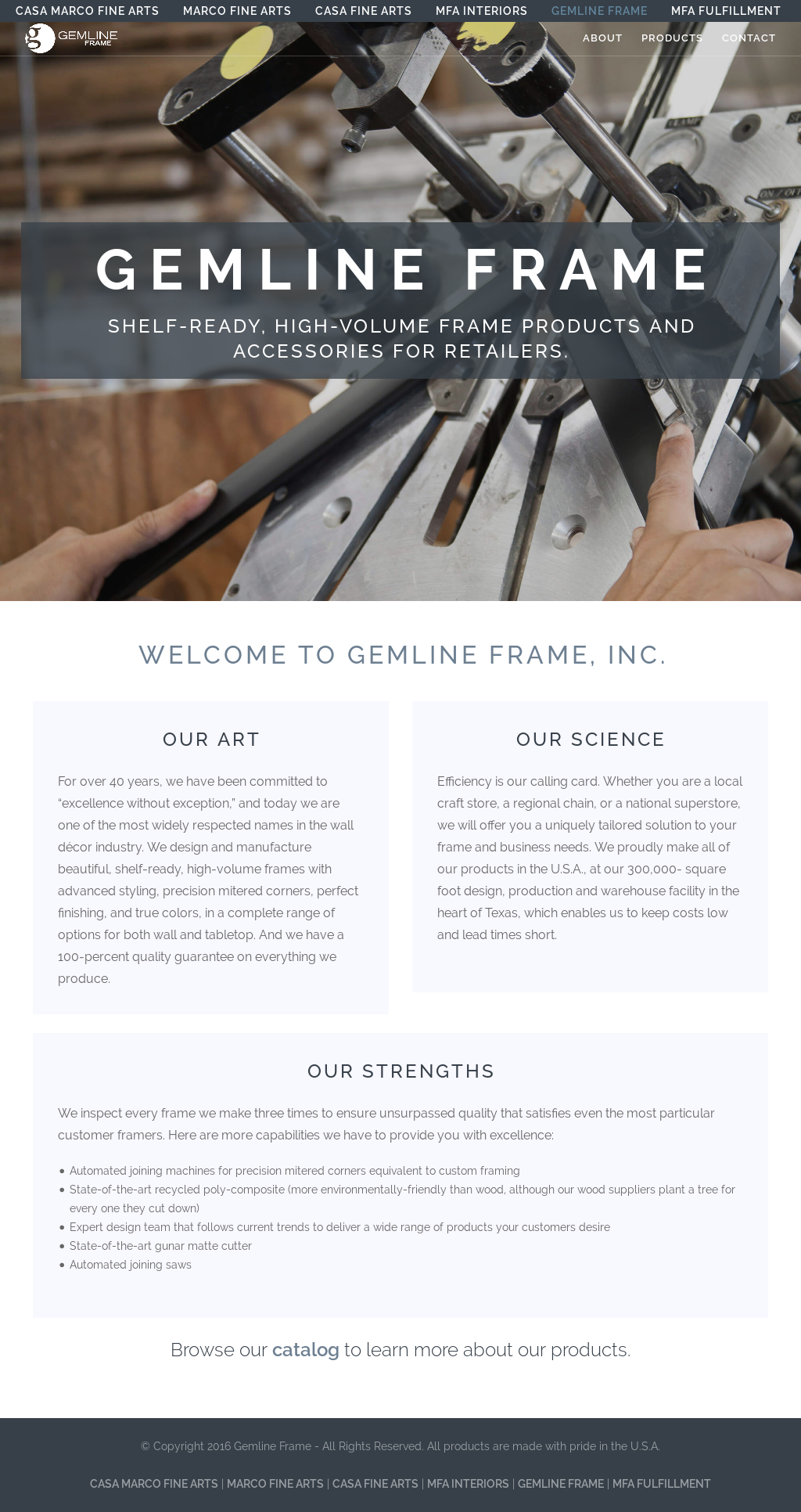 Gemline Frame Competitors, Revenue and Employees - Owler Company Profile