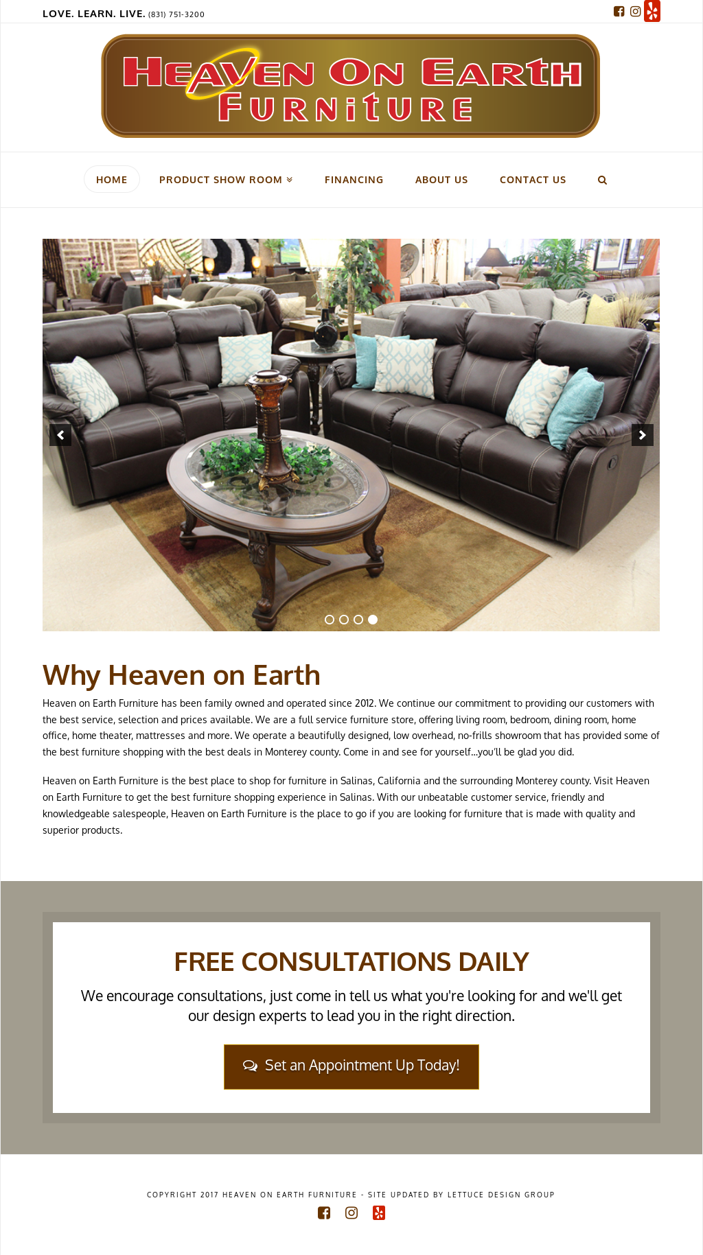 Heaven On Earth Furniture Compeors Revenue And Employees Owler Company Profile