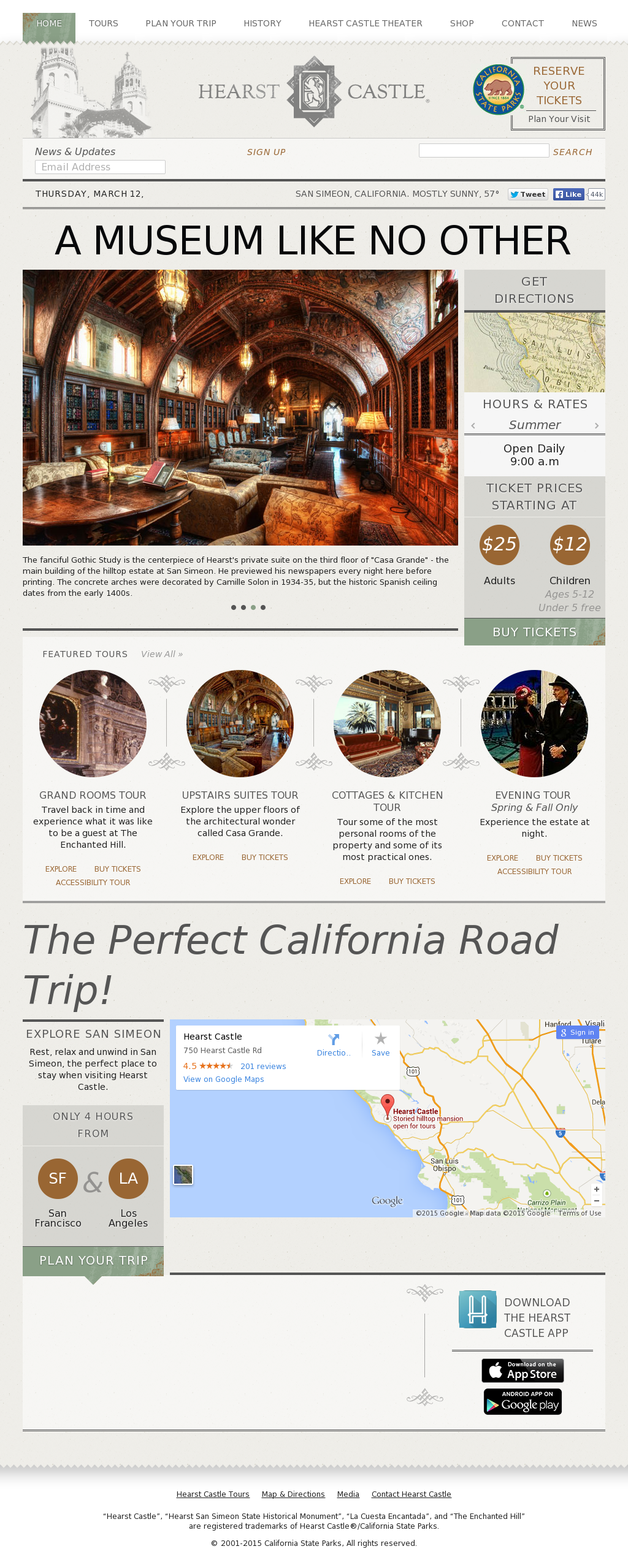 Hearst Castle California Map.Hearst Castle Historical Mnmnt Competitors Revenue And Employees