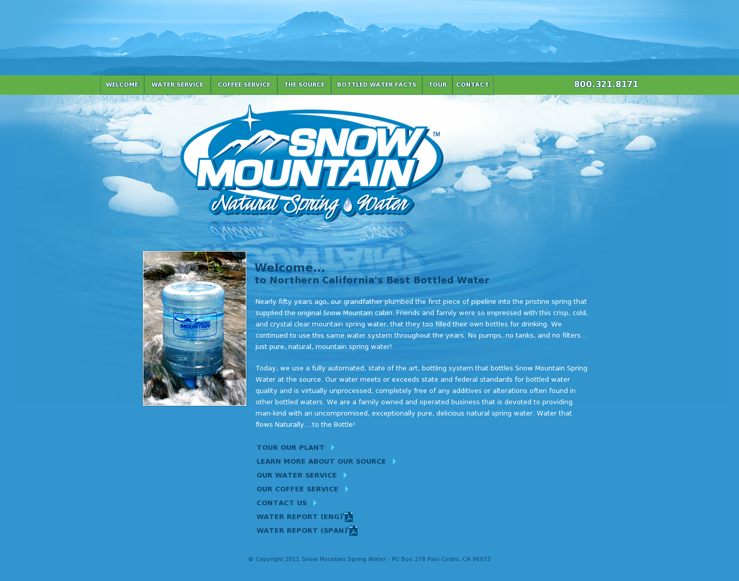 Snow Mountain Spring Water Competitors, Revenue and Employees