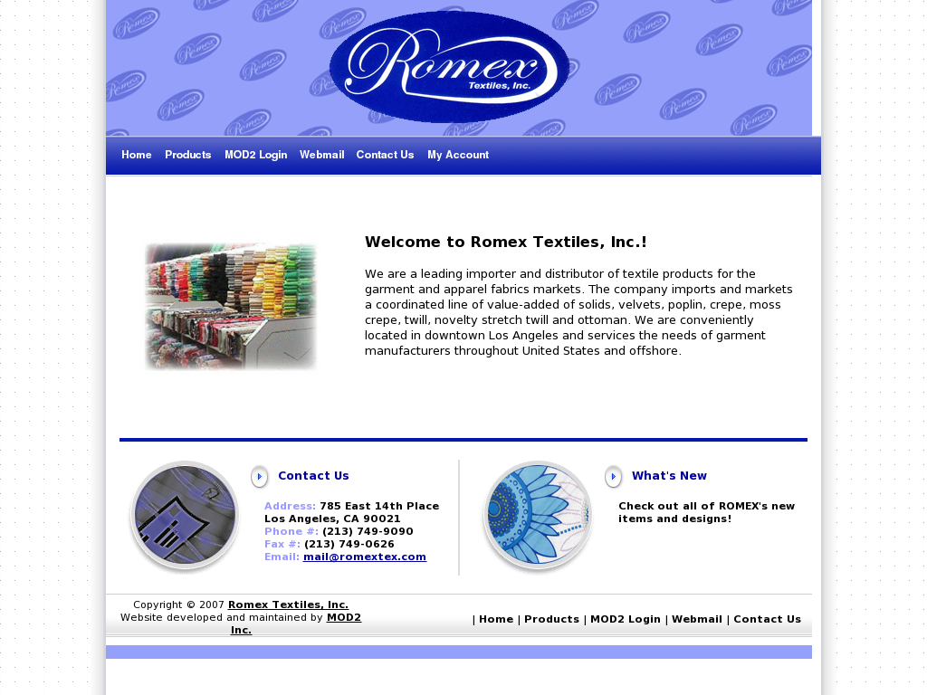 Other Textiles Distributors Mail