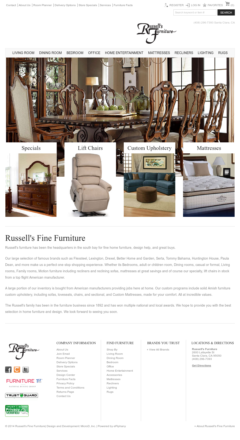 Russell S Furniture Competitors Revenue And Employees Owler