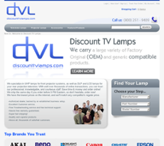 DiscountTVLamps Website History