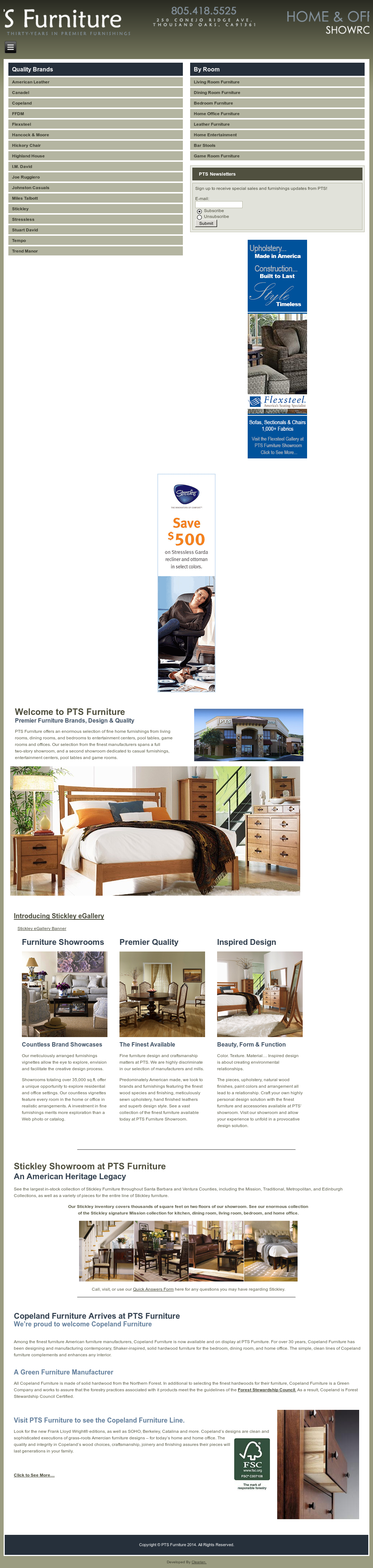 Pts Furniture Thousand Oaks Ca Design Website History Home Office Compeors Revenue And Employees