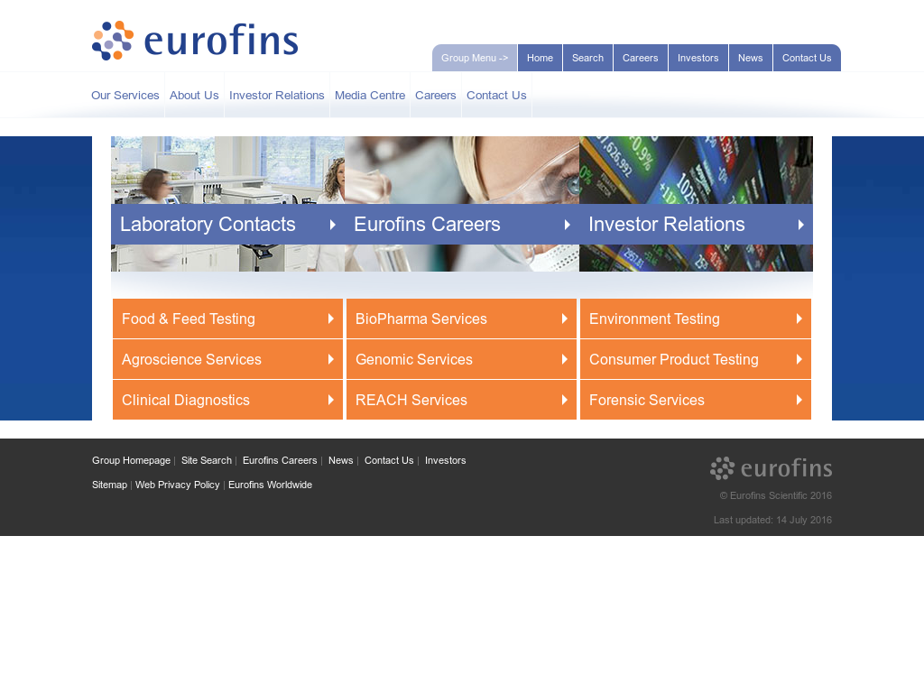 Eurofins Competitors, Revenue and Employees - Owler Company