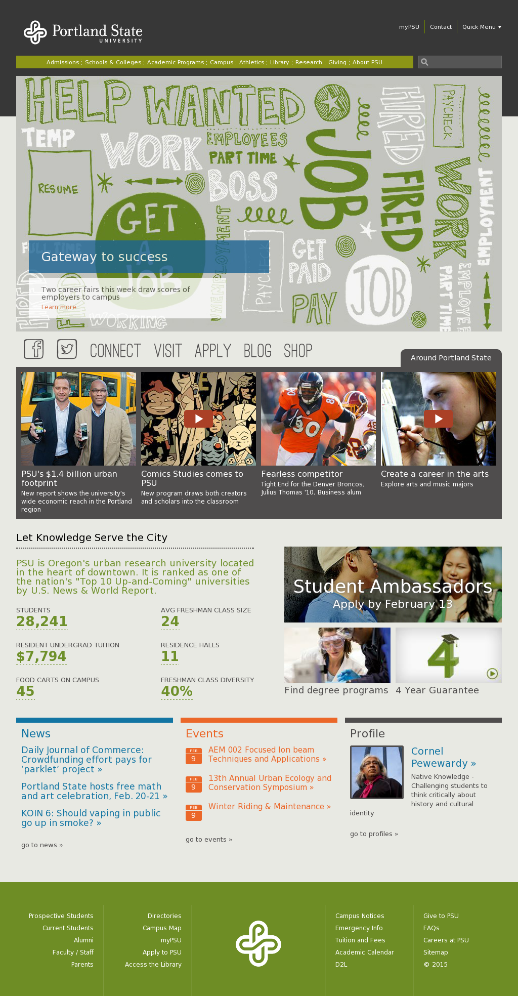 Portland State University Calendar.Pdu Competitors Revenue And Employees Owler Company Profile