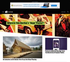 Fastco Design website history