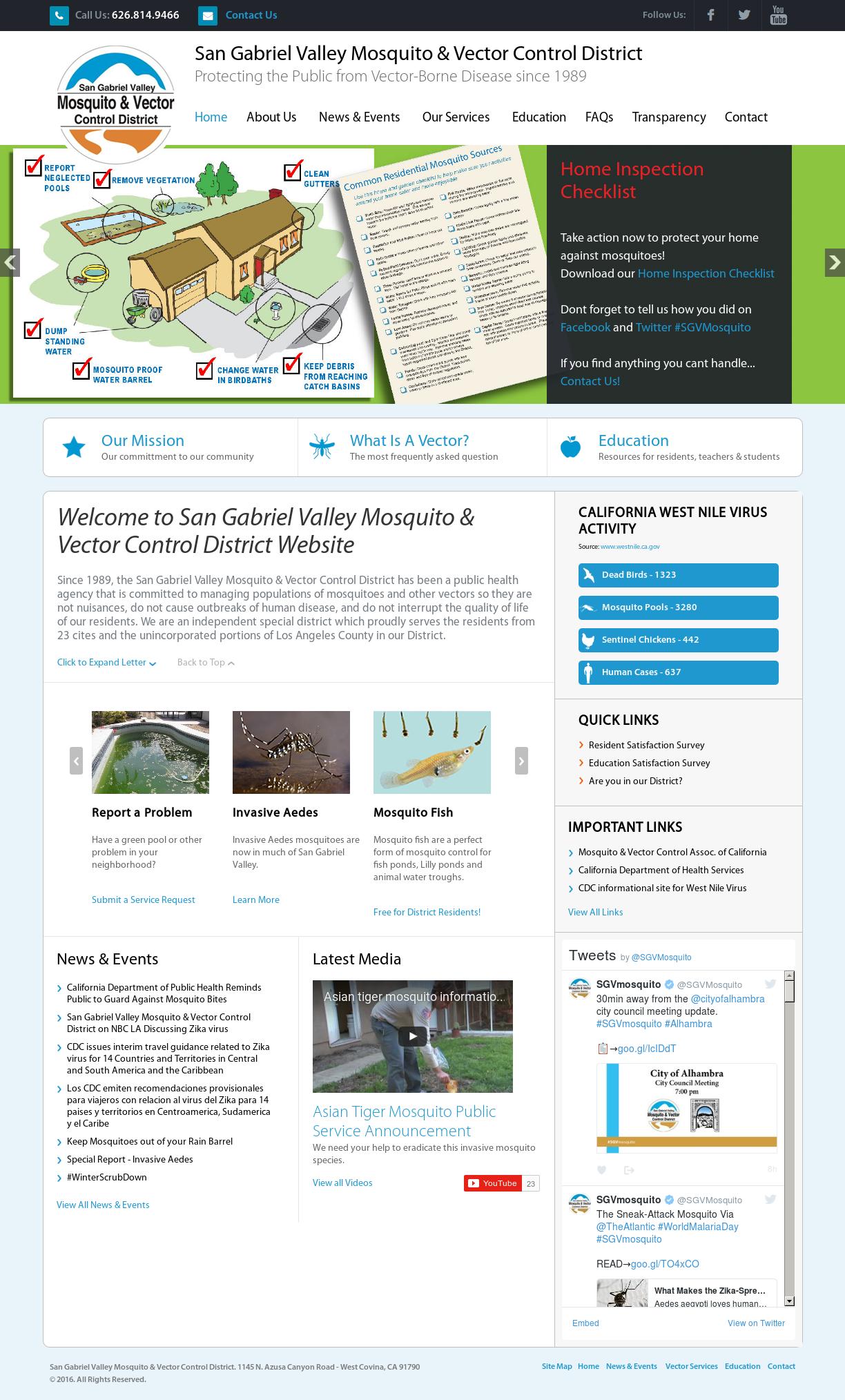 San Gabriel Valley Mosquito Competitors, Revenue and