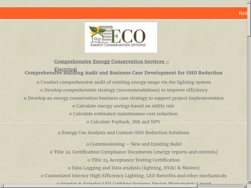 Energy Conservation Options Eco Competitors Revenue And Employees
