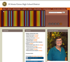 El Monte Union High School District website history