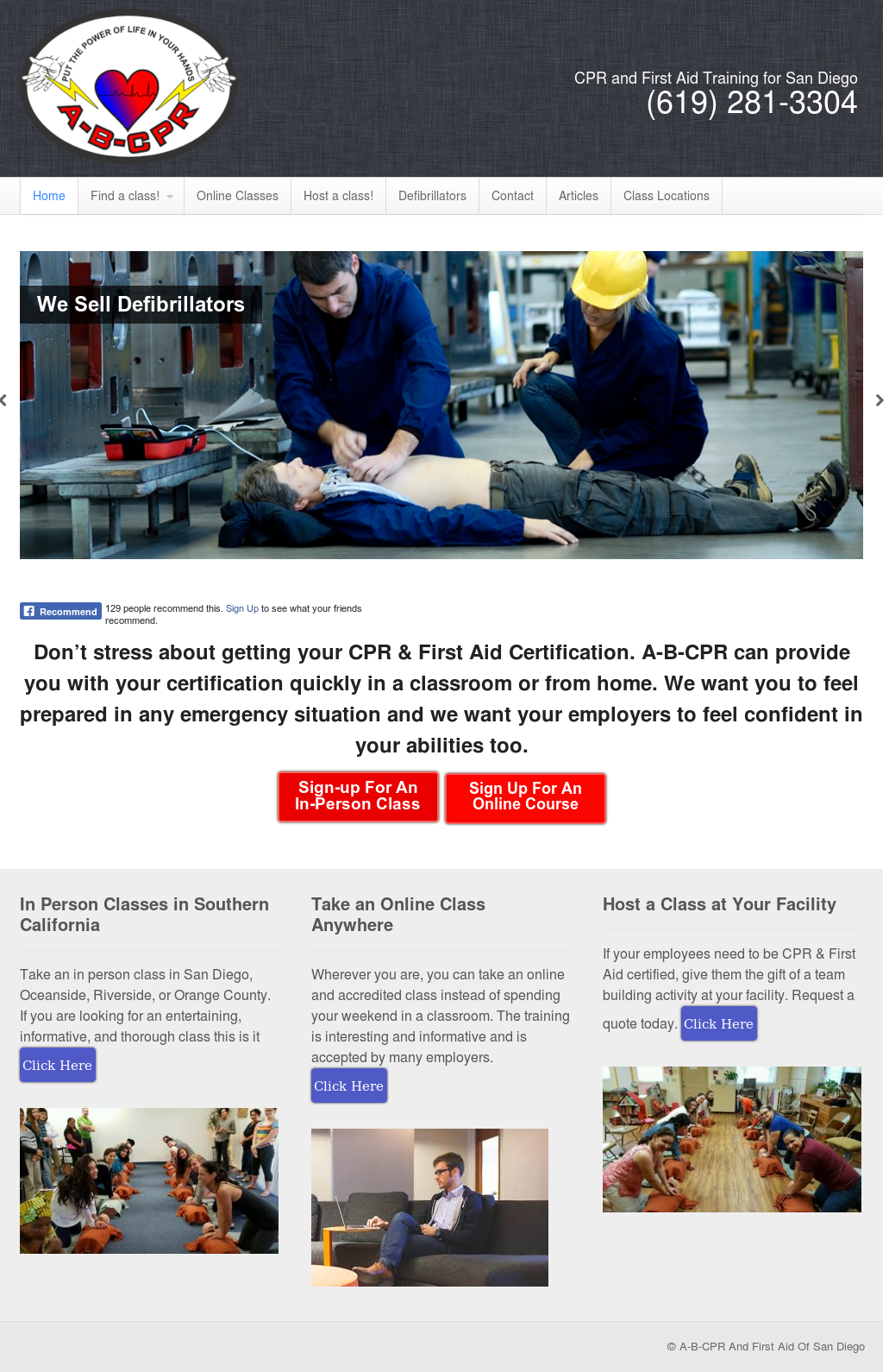 A B Cpr First Aid Training Competitors Revenue And Employees