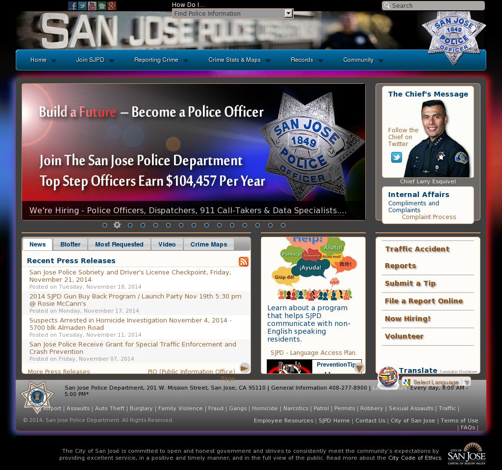 San Jose Police Department Competitors, Revenue and Employees ...