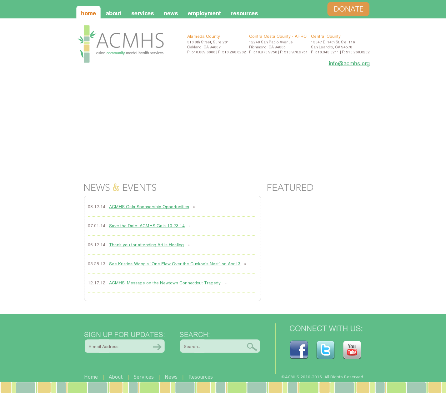 Asian Community Mental Health Services Acmhs Competitors Revenue