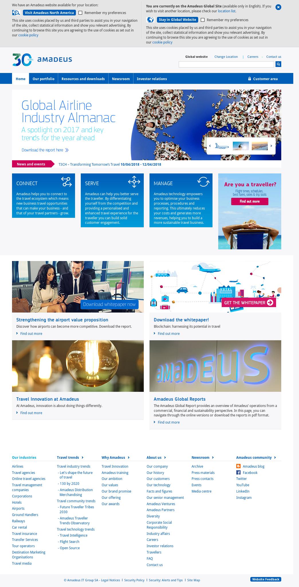 Amadeus Competitors, Revenue and Employees - Owler Company