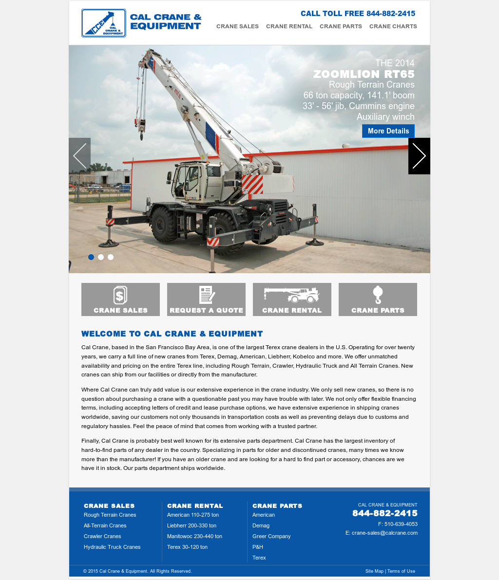 Cal Crane & Equipment Competitors, Revenue and Employees