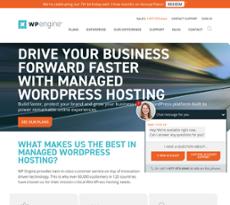 WPEngine website history