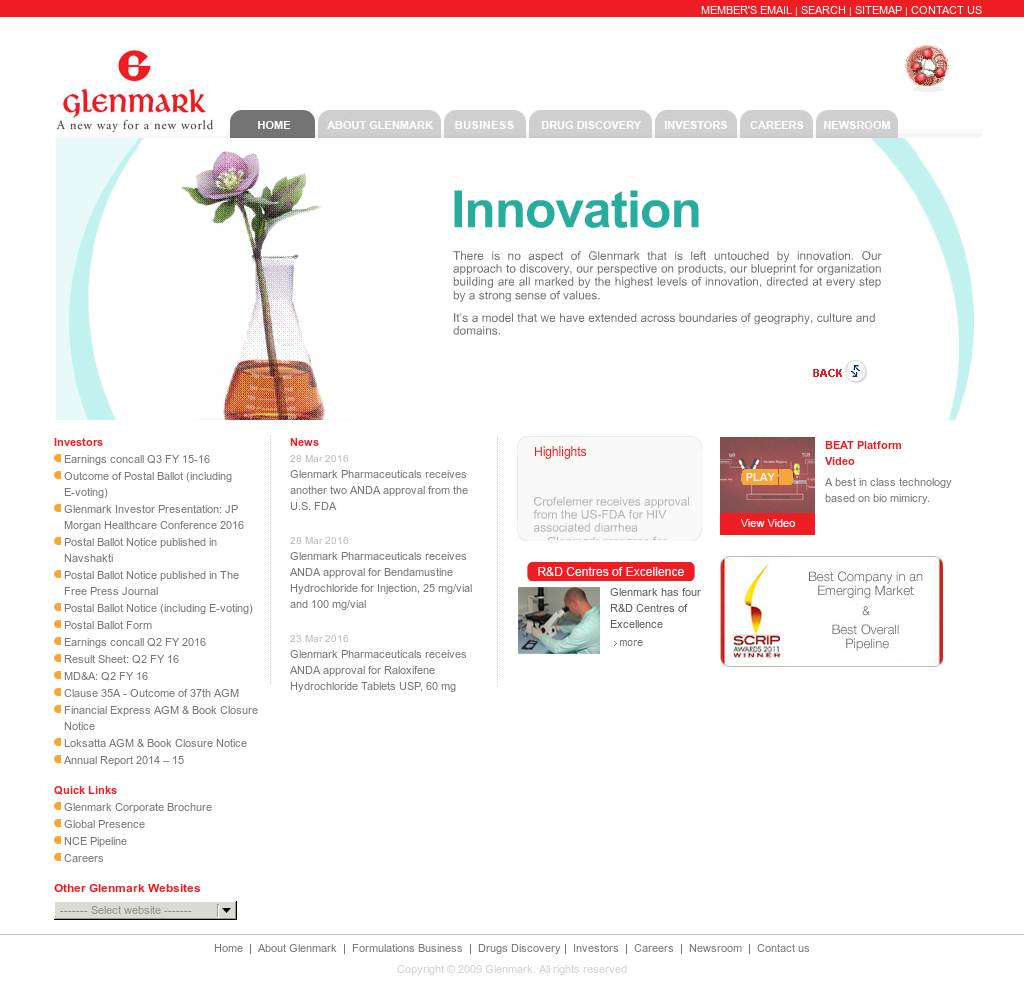 Glenmark Competitors, Revenue and Employees - Owler Company
