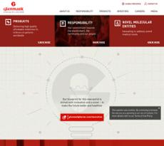 Glenmark website history