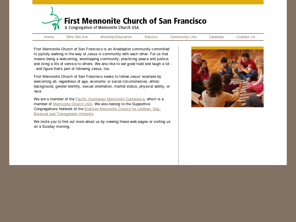 First Mennonite Church Of San Francisco Competitors Revenue And Employees Owler Company Profile