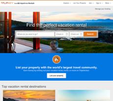 FlipKey website history