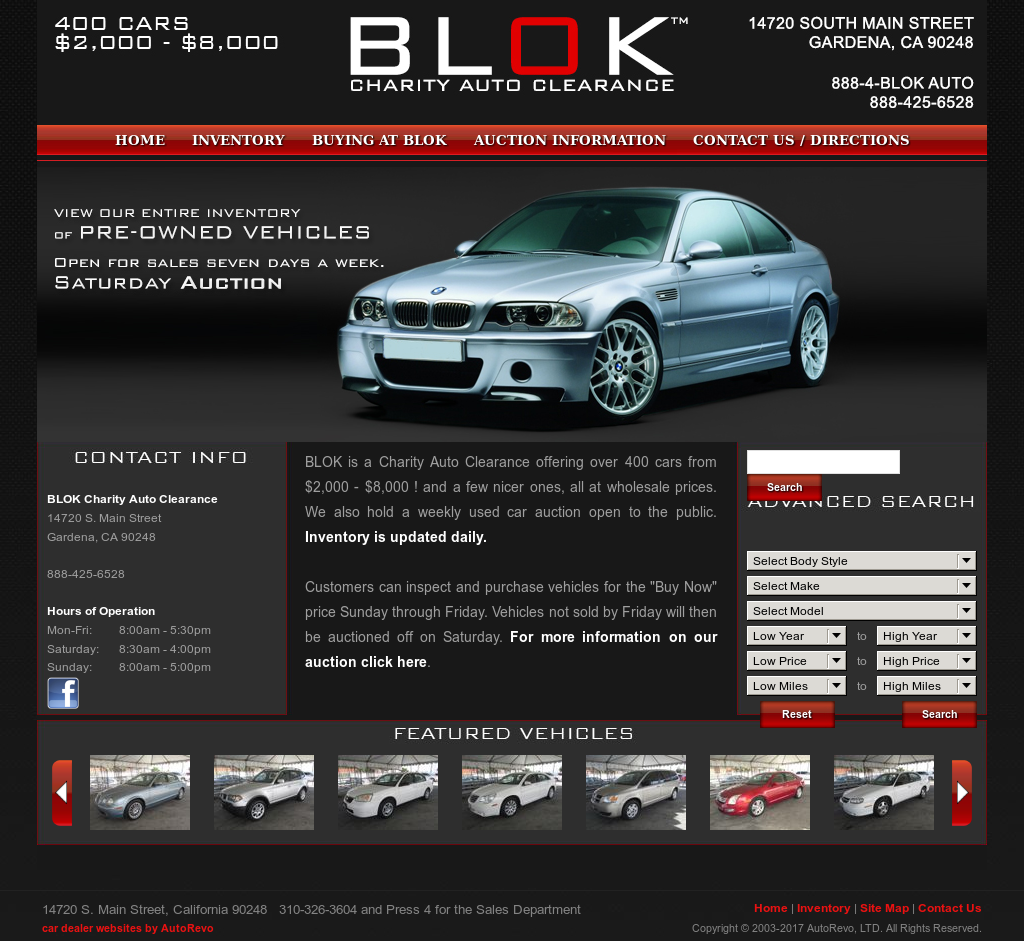 BLOK Charity Auto Clearance Competitors, Revenue and Employees ...