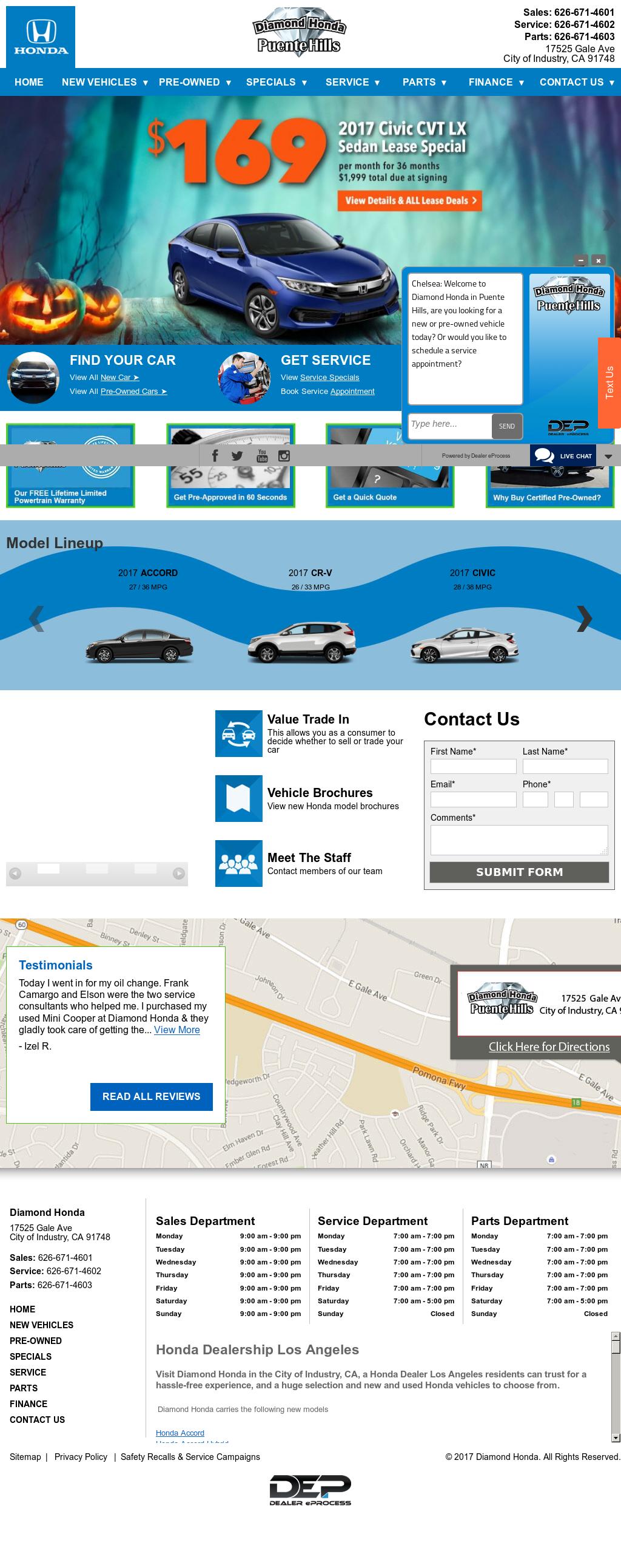 Puente Hills Honda >> Diamond Honda of Puente Hills Competitors, Revenue and Employees - Owler Company Profile