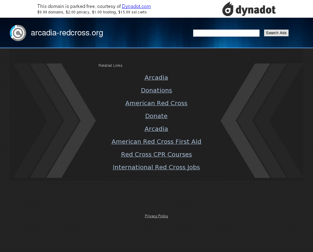 American Red Cross, Arcadia Chapter Competitors, Revenue and