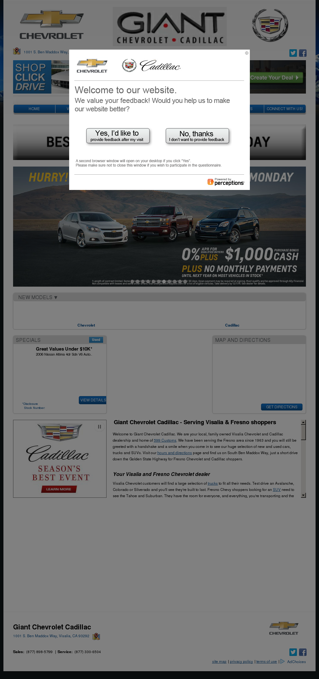 giant chevrolet cadillac competitors revenue and employees owler