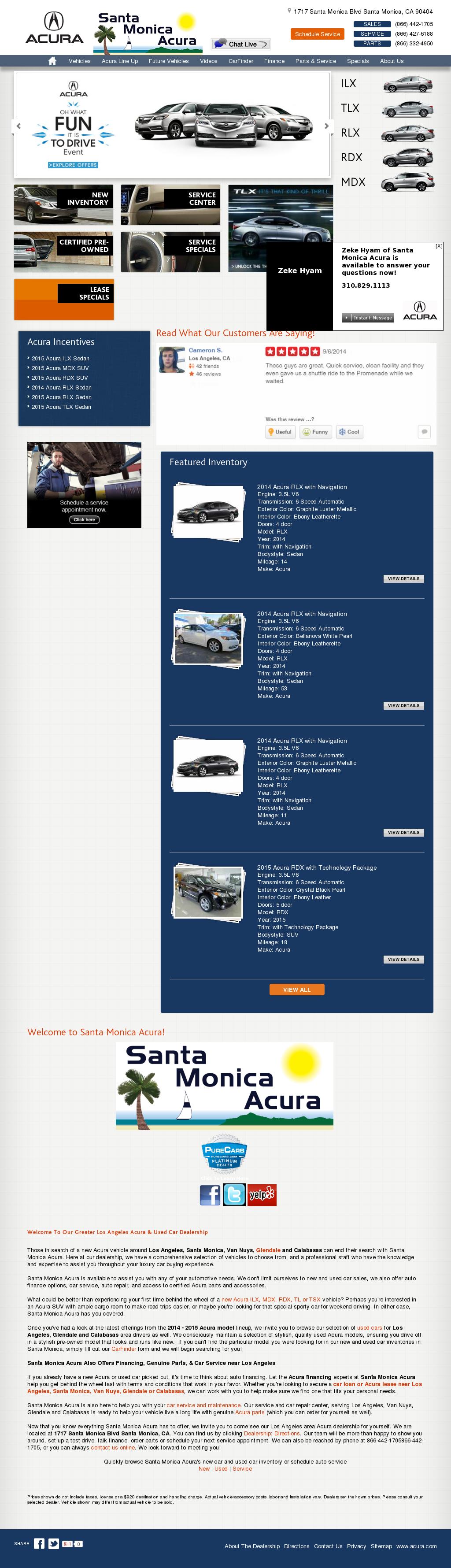 Acura Santa Monica >> Santa Monica Acura Competitors Revenue And Employees Owler