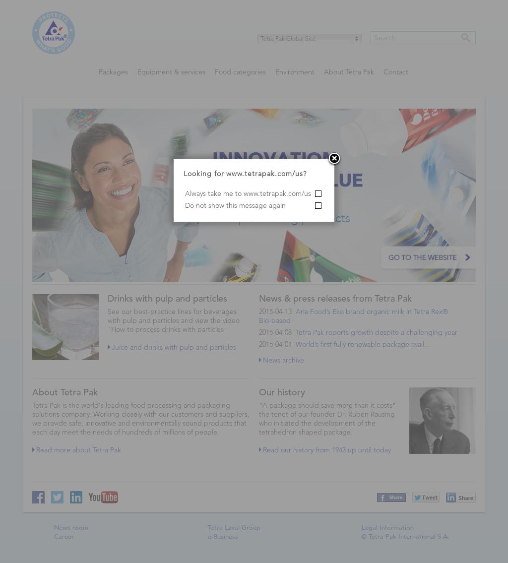 Tetra Pak Competitors, Revenue and Employees - Owler Company Profile