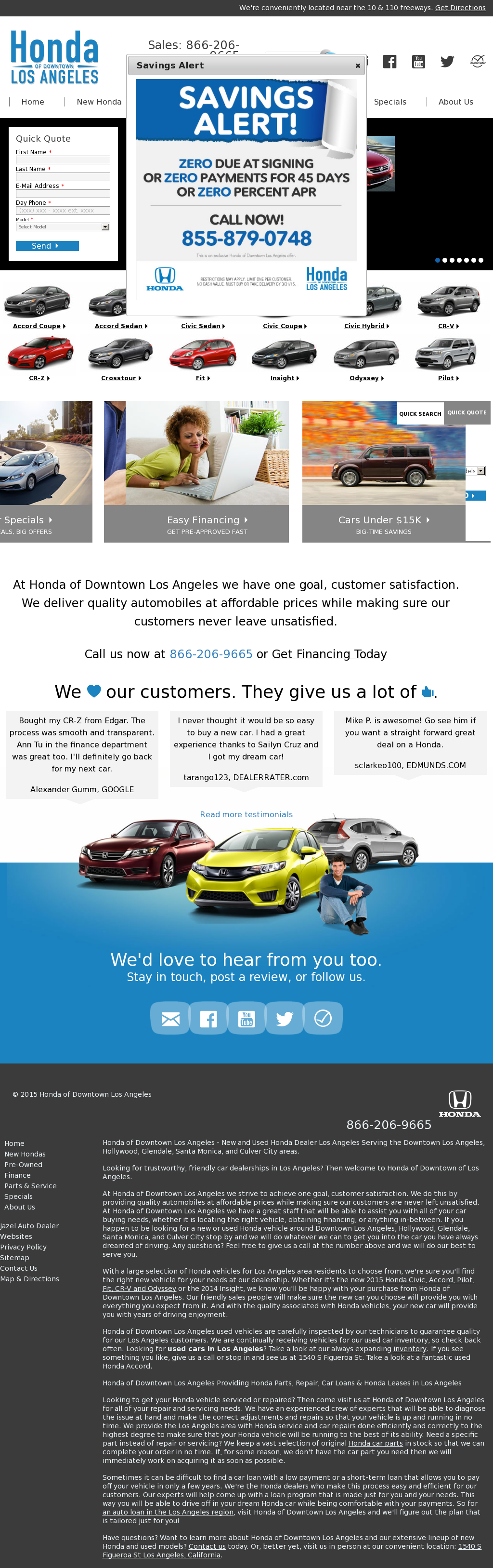 Honda Of Downtown LA Competitors, Revenue And Employees   Owler Company  Profile