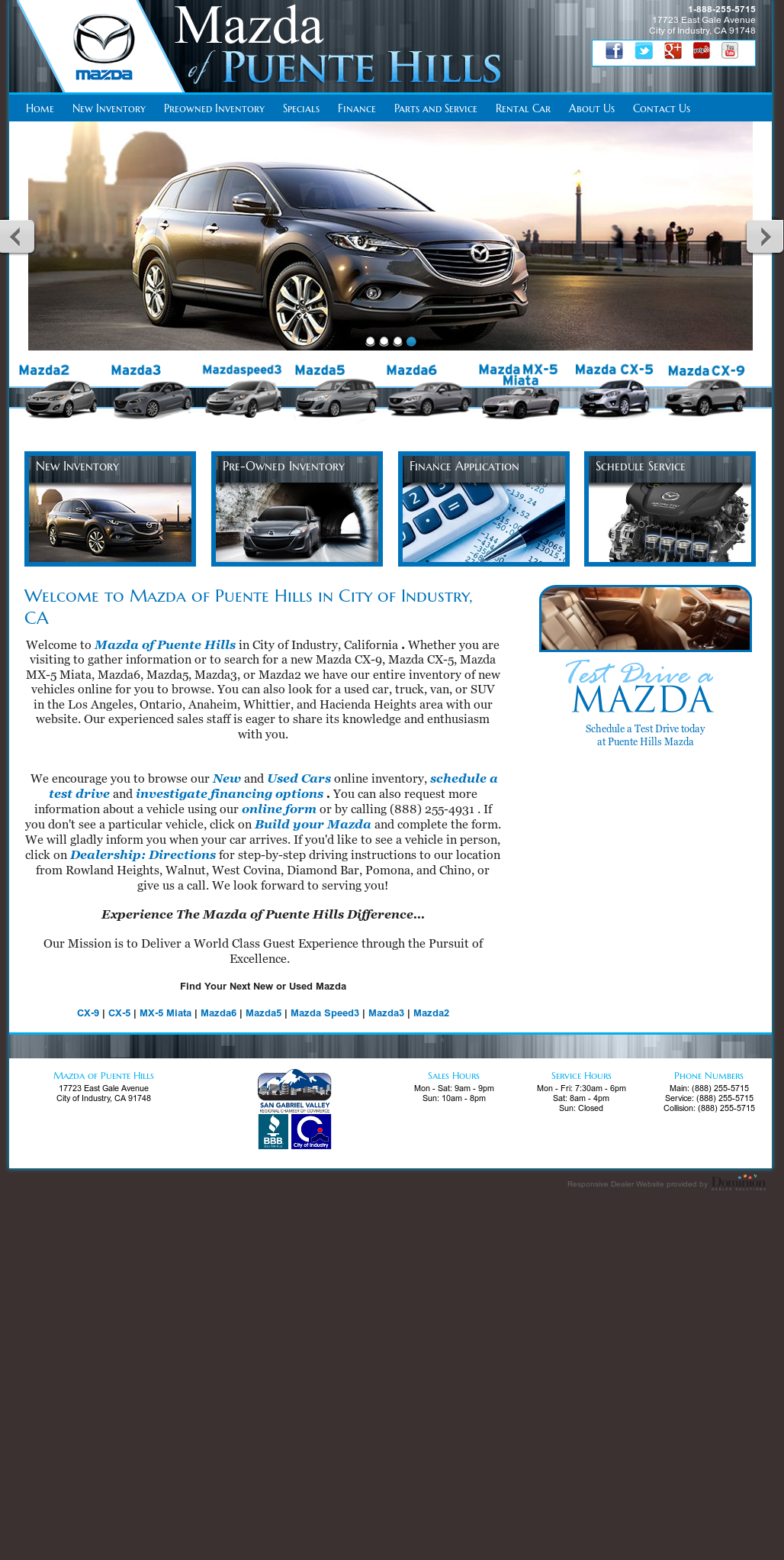 Mazda Of Puente Hills Competitors, Revenue And Employees   Owler Company  Profile
